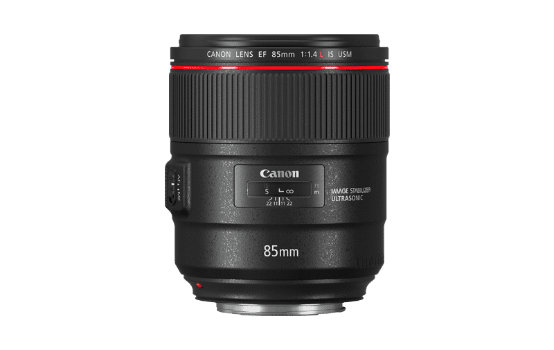 objectif canon 85mm f1.4