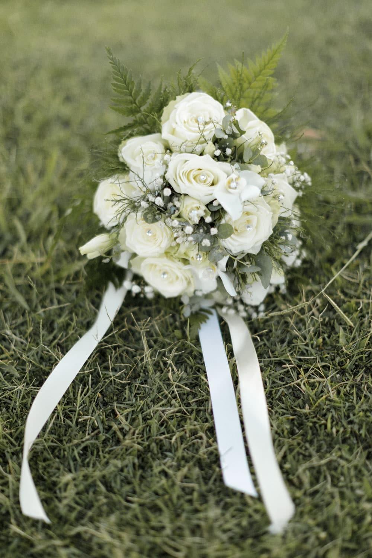 phographie du bouquet de la mariée