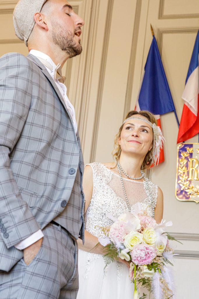 oui du marié à la mairie