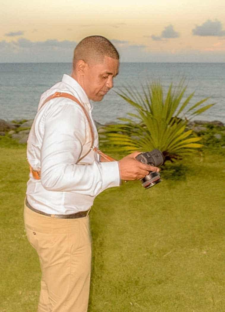 portrait en prestation photographie de mariage