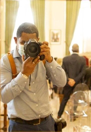 photographe shoote dans la mairie