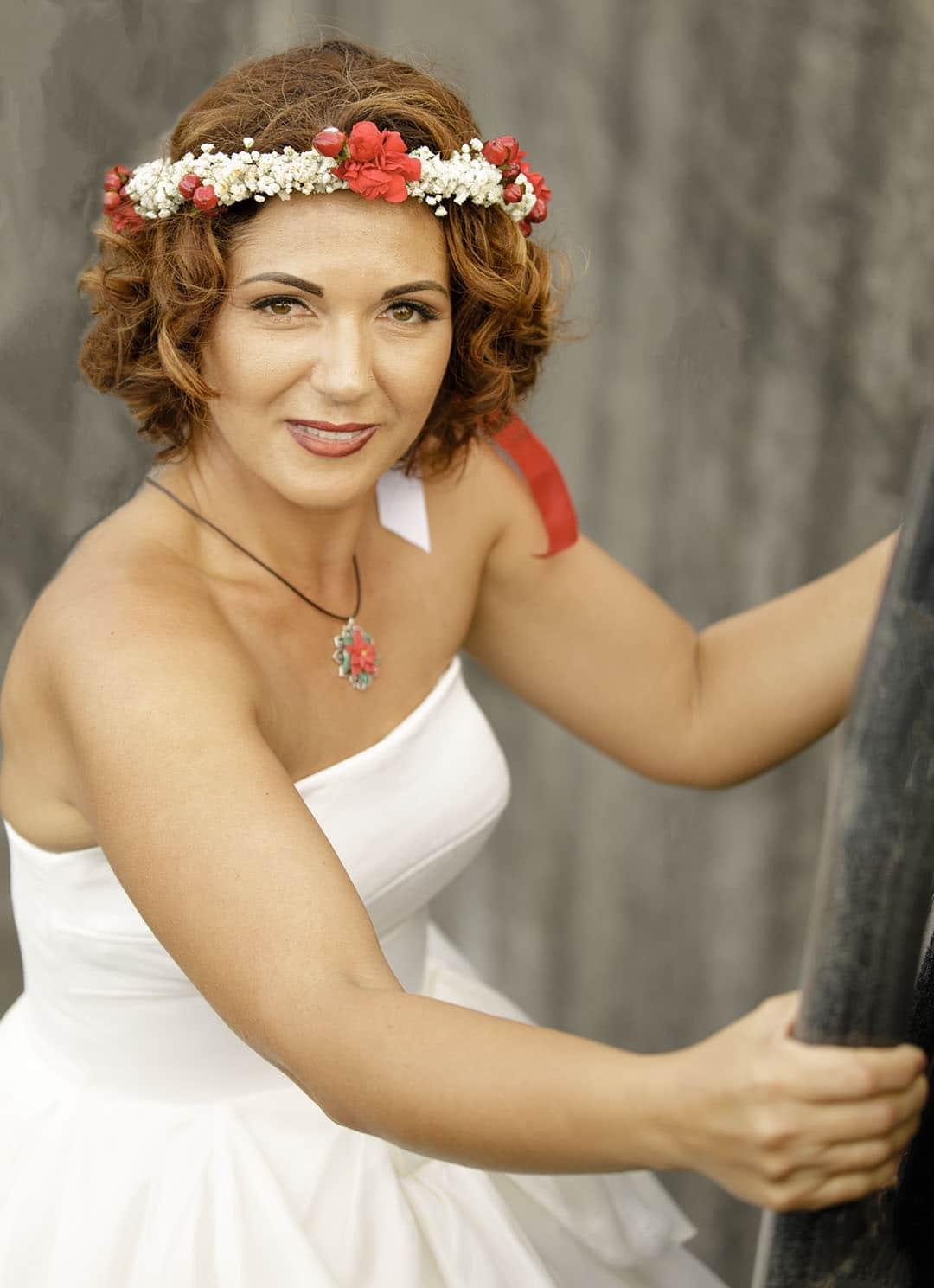 photographe mariage paris portrait de la mariée