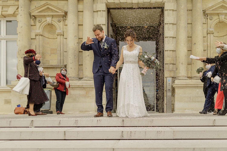 photo de couple lors du mariage